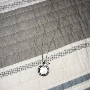 Origami Owl Necklace with removable plate
